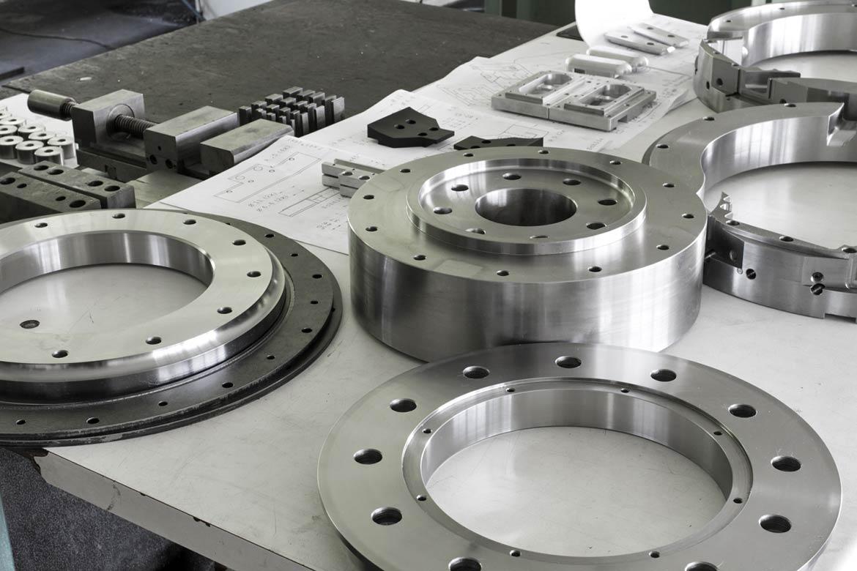 Μεταλλικά υλικά CNC κατεργασίας